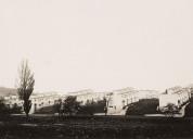 Abgetreppte 6-Zimmerhäuser. Die Eigenart der Topografie bleibt erkennbar. Nachlass Emil Roth, gta Archiv.